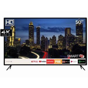 "Smart TV LED 50"" HQ HQSTV50NY Ultra HD 4K Netflix Youtube 3 HDMI 2 USB Wi-Fi - R$1890"