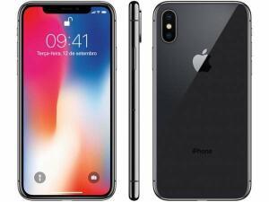 iPhone X Apple 256GB Cinza Espacial | R$ 3.720