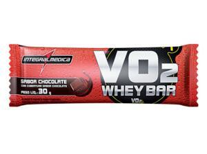 Barra de Proteína Integramédica Protein Bar - Chocolate ou Frutas Vermelhas | R$ 1,69