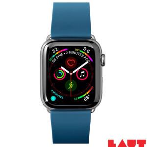 Pulseira para Apple Watch 42/44mm Active em Borracha TPU Azul Petróleo   R$ 142
