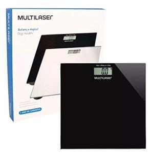 Balança Digital Digi-Health Pro, Multilaser, Hc022, Preto | R$ 52