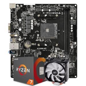 Kit Ryzen 2700 + A320m | R$ 1.499