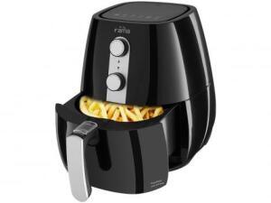 Fritadeira sem óleo Air Fry Preta 2,9L com Timer - Fama | R$ 230