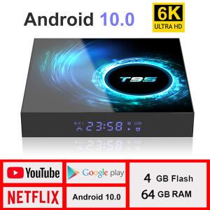 Tv Box T95 h616 - 6k/4gb ram/32gb ROM/ Android 10