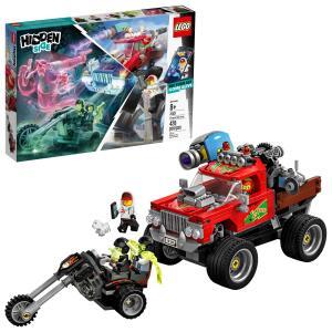 Lego Hidden Side O Caminhão De Acrobacias De El Fuego 70421   R$204