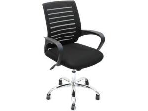 [Clube da Lu] Cadeira de Escritório Giratória Diretor Nell - Preta | R$234
