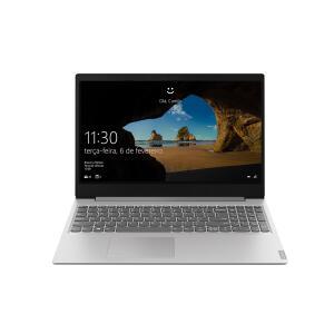 Notebook Lenovo AMD AMD Ryzen5-3500U 8GB HD 1TB Tela 15.6 Pol. Windows 10 S145 | R$2.999