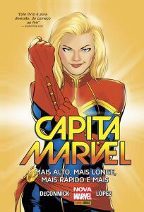 HQ | Capitã Marvel. Mais Alto, Mais Longe, Mais Rápido e Mais - R$23