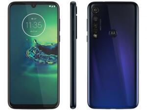 Smartphone Motorola G8 Plus 64GB Azul Safira | R$1251