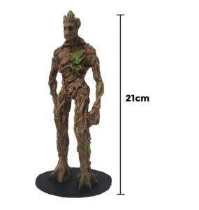 Action Figure Groot Adulto Guardiões da Galáxia Resina 21cm | R$35