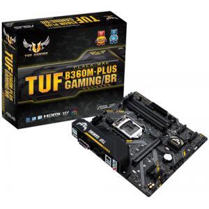 Placa Mãe Asus TUF B360M-Plus Gaming/BR, Chipset B360, Intel | R$569