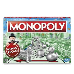 Jogo Hasbro Gaming Monopoly - C1009 Hasbro Gaming Verde/vermelho   R$59