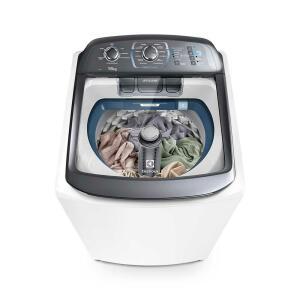 Máquina de Lavar 16Kg Perfect Wash com Jet&Clean Máquina de Cuidar Electrolux (LPE16)| R$ 1.269