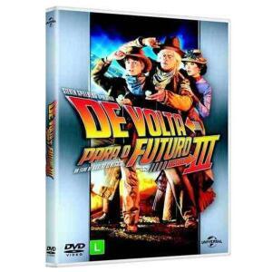 DVD - De Volta Para o Futuro 3 - R$4