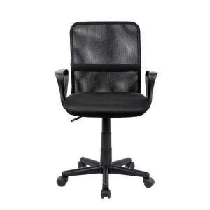 Cadeira de escritório Diretor Mike Travel Max - Preto | R$ 200