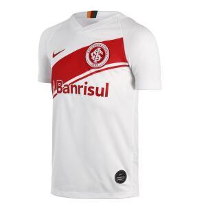 Camisa Nike Internacional II 2019/20 Torcedor Pro Infantil - Tamanho G