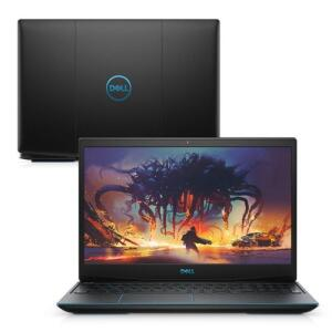"Notebook Gamer Dell G3-3590-U60P 9ª Geração Intel Core i7 8GB 512GB SSD Placa Vídeo NVIDIA 1660Ti 15.6"" Linux"