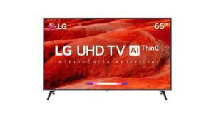 "(AME R$ 3039) Smart TV Led 65"" LG 65UM7520PSB   R$ 3.799"