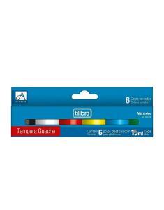 [PRIME] Tinta Guache 15ml Tilibra - 6 Cores | R$ 7