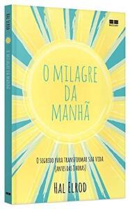 Livro O milagre da manhã - Capa comum | R$ 28