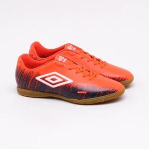 Chuteira Futsal Umbro Burn Coral - Vários tamanhos