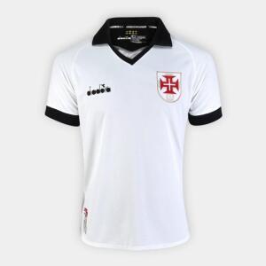 Camisa Vasco III 19/20 s/nº Torcedor Diadora Masculina - Branco
