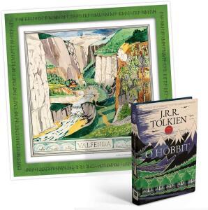 Livro - O Hobbit + poster