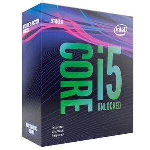 Processador Intel Core i5-9600KF Coffee Lake Refresh, Cache 9MB, 3.7GHz (4.6GHz Max Turbo)
