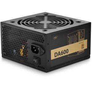 Fonte Deepcool DA600 600W, 80 Plus Bronze, PFC Ativo, DP-BZ-DA600N