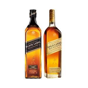 Whisky Johnnie Walker Gold Reserve 750ml + Whisky Black Label 750ml