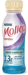 Leve 5 unidades Bebida Láctea Proteína Baunilha Molico 270ml R$ 15