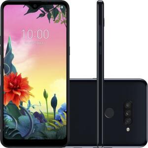 "Smartphone LG K50s 32GB Dual Chip Android 9 Tela 6.5"" Octa Core 2.0GHz 4G 13MP + 5MP + 2MP - Preto | R$ 839"