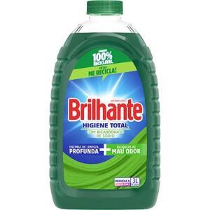 Sabão Líquido Brilhante Higiene Total 3L | R$ 10