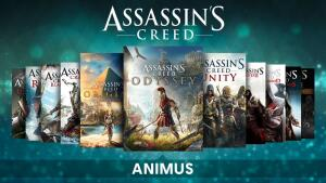 Animus Pack - Todos os jogos de Assassin's Creed lançados