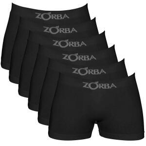 PRIME - Zorba Kit 6 Cuecas Boxer sem Costura Masculino | R$80