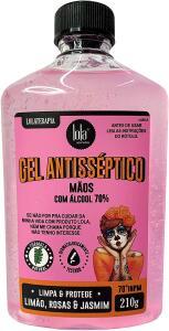 [PRIME] Gel Antisséptico 70% Limão & Rosas, 210g, Lola Cosmetics | R$14