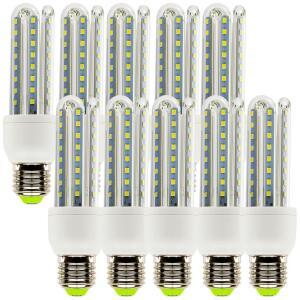 Kit com 10 Lâmpadas LED Super Econômica E27 9W, 6000K