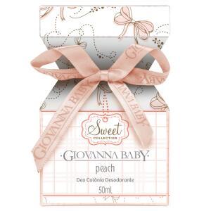 Deo Colônia Giovanna Baby Peach 50ml