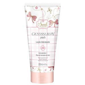 Loção Hidratante Desodorante Giovanna Baby Peach 200ml