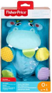 Hipopótamo Atividades Divertidas, Fisher Price, Mattel | R$93