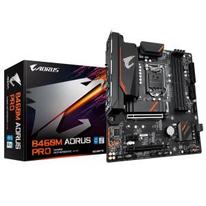Placa-Mãe Aorus B460M Aorus Pro, Intel LGA 1200, mATX, DDR4 | R$ 1.121
