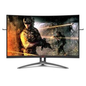 "Monitor 32"" Gamer AOC AG323FCXE Full HD Tela Curva 165Hz 1ms | R$ 2089"