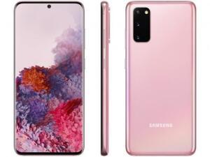 [APP+CLUBE DA LU] Smartphone Samsung Galaxy S20 128GB Cloud Pink 4G   R$ 3.464