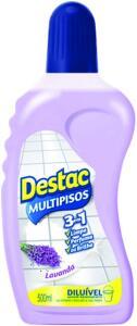 Limpador Multipisos Diluível Destac Lavanda e Alfazema, 500ml | R$4