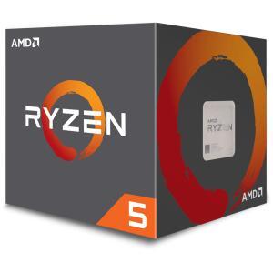 Processador AMD Ryzen 5 2600X 3.6GHz (4.25GHz Turbo) 6-Cores 12-Threads, Cooler Wraith Spire, YD260XBCAFBOX, S/ Video