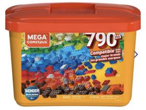 Blocos de Montar - Mega Construx - 790 Peças   R$90