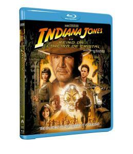 Blu-ray Indiana Jones e o Reino da Caveira de Cristal