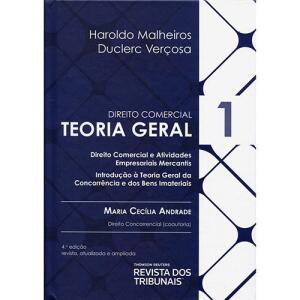 Livro - Teoria Geral: Coleção Direito Comercial - Vol.1 - Haroldo Malheiros E Duclerc Verçosa