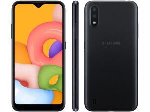 [APP] Smartphone Samsung Galaxy A01 32GB-2GB RAM | R$720