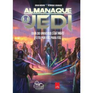 Livro - Almanaque Jedi : Guia do Universo Star Wars feito por fãs para fãs.